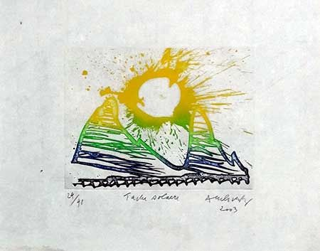 Stich Alechinsky - Tache Solaire