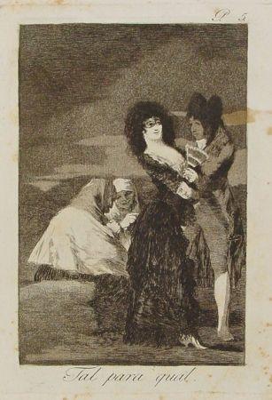 Stich Goya - Tal para cual