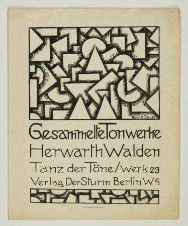 Lithographie Bauer - Tanz der Töne (Dance of Sounds)