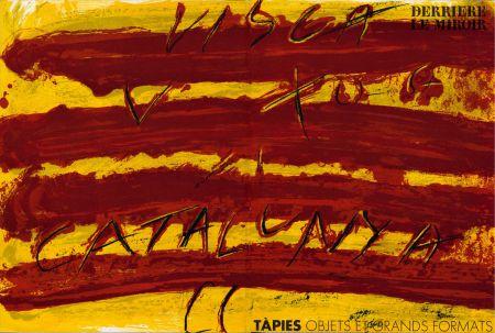 Illustriertes Buch Tàpies - TAPIES : Objets et grands formats. DERRIÈRE LE MIROIR N° 200. 1972.