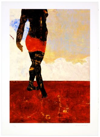 Digitale Druckgrafik Brisson - Tapis Rouge