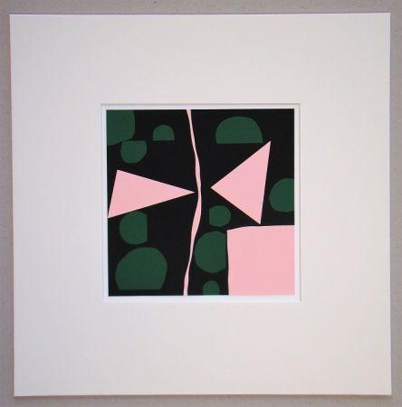 Siebdruck Mortensen - Tavignano - 1964