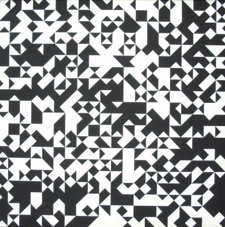 Siebdruck Morellet - Tavola 7