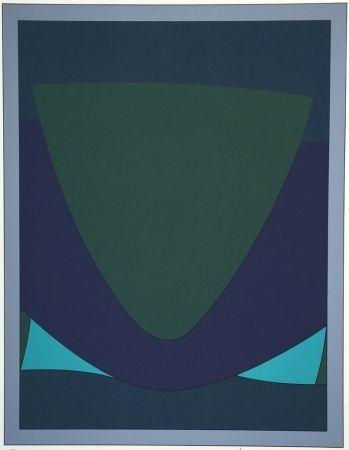 Siebdruck Vasarely - Tecoma