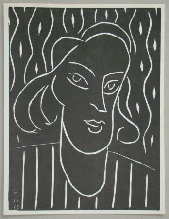 Linolschnitt Matisse - Teeny, 1938