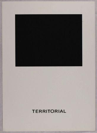 Siebdruck Agnetti - Territorial from 'Spazio perduto e spazio costruito' portfolio, Plate B