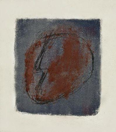 Lithographie Fautrier - Tete d'Otage