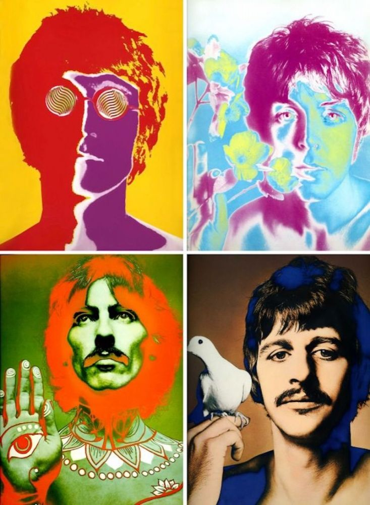 Lithographie Avedon - The Beatles