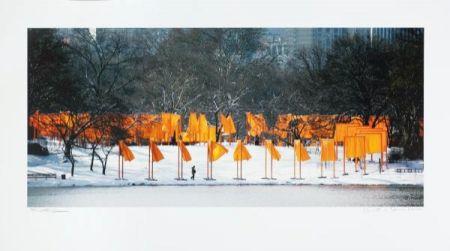 Fotografie Christo - The Gates Rondell