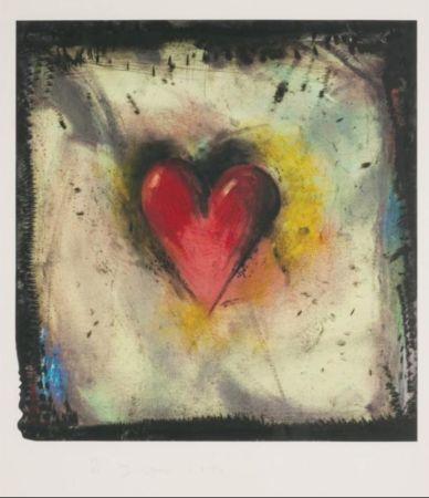 Radierung Und Aquatinta Dine - The Hand-Colored Viennese Heart IV