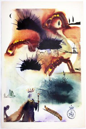 Heliogravüre Dali - THE LOBSTER QUADRILLE  (From Alice in Wonderland. New-Yok 1969).