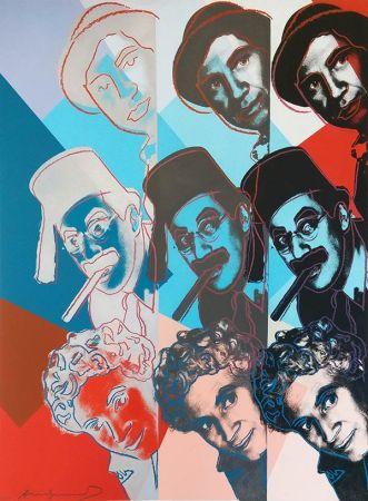 Siebdruck Warhol - The Marx Brothers Fs Ii.232