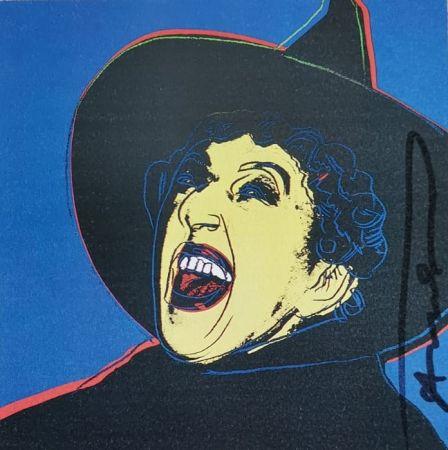 Siebdruck Warhol - The Mitch