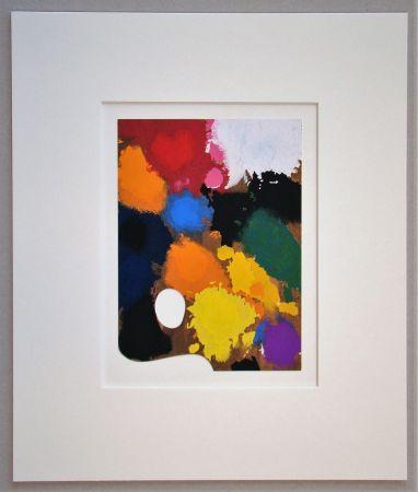 Pochoir Miró - The Palette of the Artist