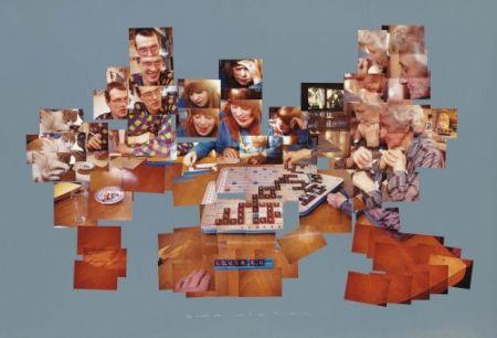 Multiple Hockney - The Scrabble Game