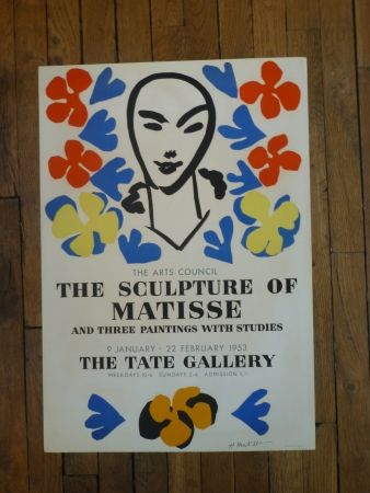 Plakat Matisse - The sculpture of Matisse,Tate Gallery