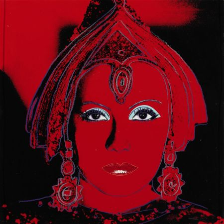 Siebdruck Warhol - The Star (FS II.258)