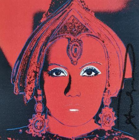 Siebdruck Warhol - The Star