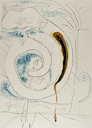 Stich Dali - The visceral circle of the cosmos