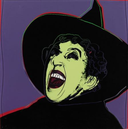 Siebdruck Warhol - The Witch (FS II.261)