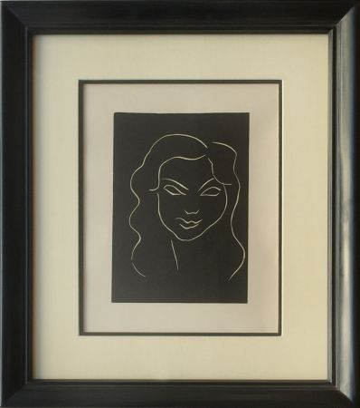 Linolschnitt Matisse - Themes et Variations - Frontispiece