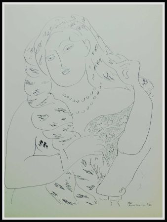 Lithographie Matisse - THEMES & VARIATIONS VI
