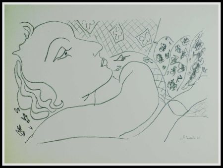 Lithographie Matisse - THEMES & VARIATIONS X