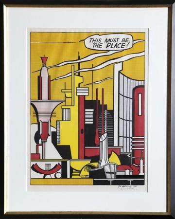 Offset Lichtenstein - This Must Be the Place (C. III.20)