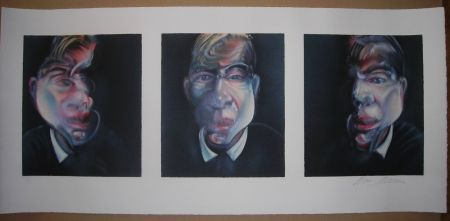 Lithographie Bacon - Three studies for a Self-Portrait