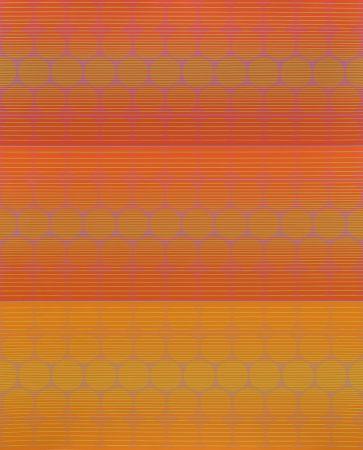Siebdruck Stanczak - Three to Compare, from Twelve Progressions