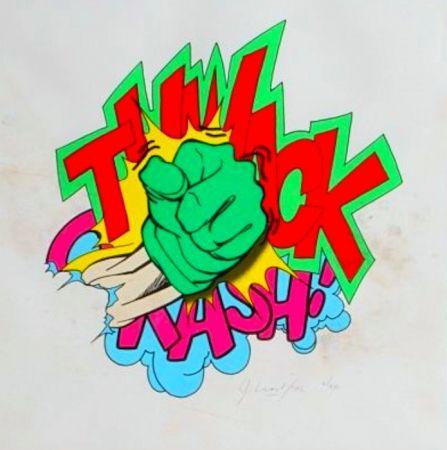 Lithographie Matos - Thwack
