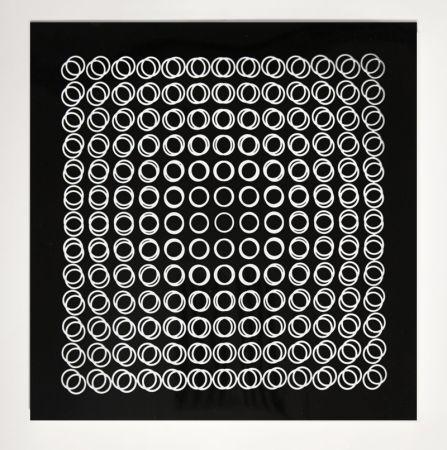 Siebdruck Vasarely - '' TIEFENBILDER ''