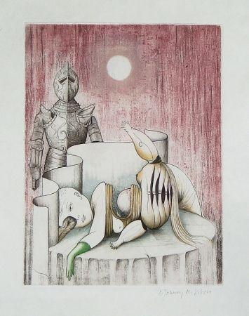 Radierung Und Aquatinta Johnny Nilsson - Titre inconnu