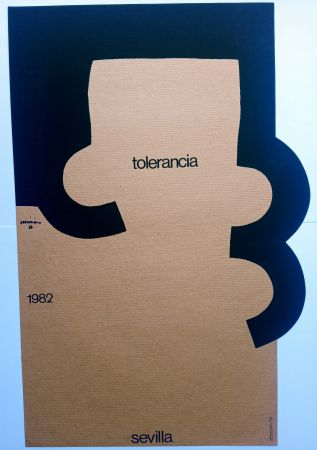 Siebdruck Chillida - Tolerancia