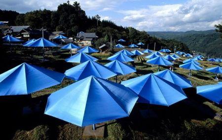 Fotografie Christo - Toronto Edition, The Umbrellas, Japan