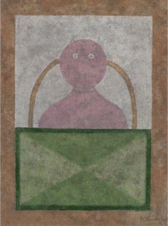 Radierung Und Aquatinta Tamayo - Torso en Rosa