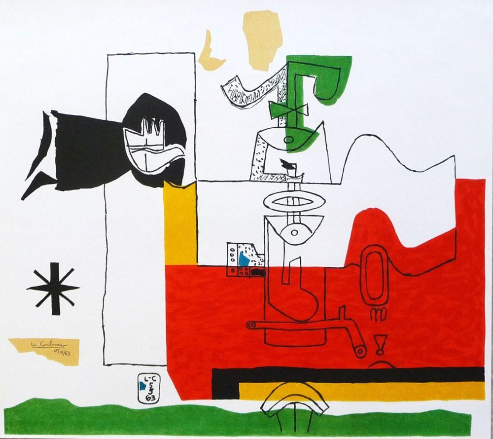 Lithographie Le Corbusier - Totem
