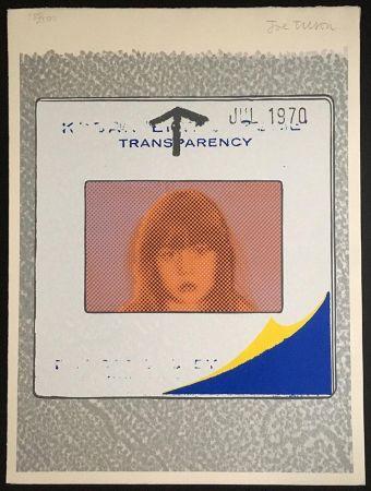 Siebdruck Tilson - Transparency, Snapshot