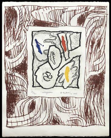 Stich Alechinsky - '' Trilogisme ''