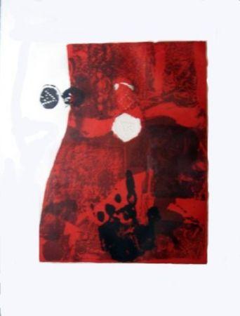 Lithographie Clavé - Trobadors I