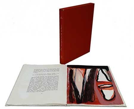 Illustriertes Buch Van Velde - Trois remarques sur la couleur