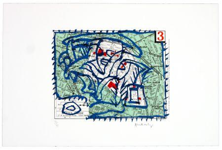 Lithographie Alechinsky - Troisième arrondissement (Paris)