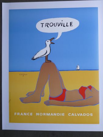 Plakat Savignac - Trouville
