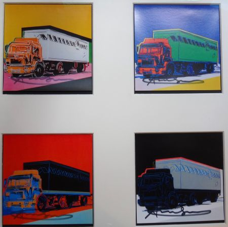 Lithographie Warhol - Trucks Announcement