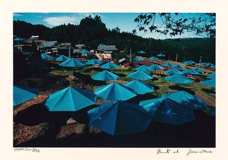 Fotografie Christo - Umbrellas Jinba Blue