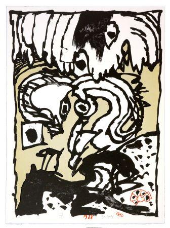 Lithographie Alechinsky - Un