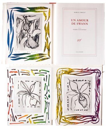 Illustriertes Buch Alechinsky - Un amour de Swann
