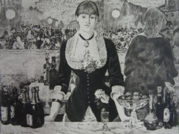 Stich Guerard - Un bar aux Folies-Bergère