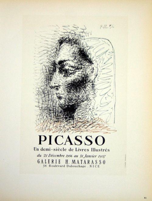 Lithographie Picasso (After) - Un Demi Siecles de Livres Illustrés