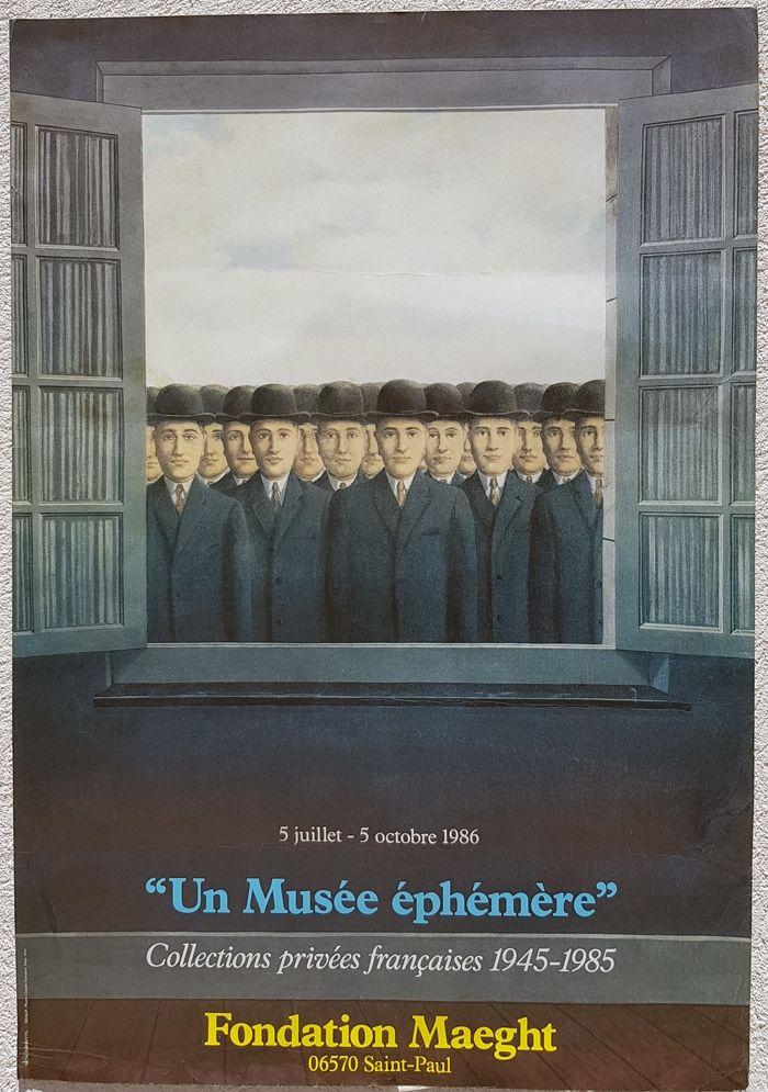 Offset Magritte - Un Musee Ephemere